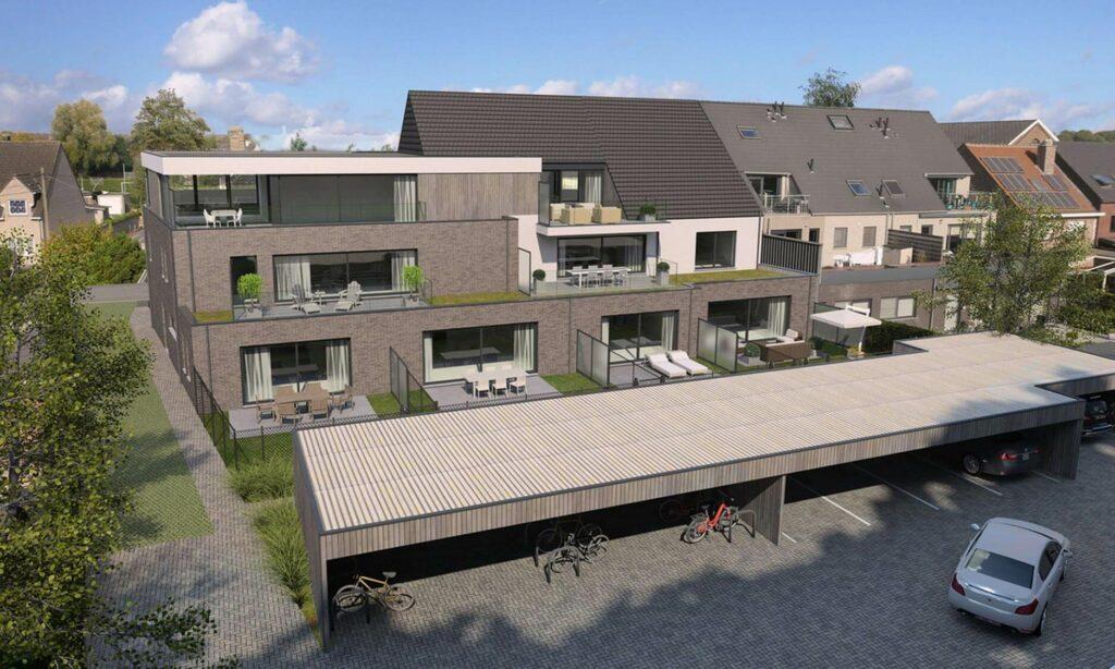 Res. Cruysveltstede Buggenhout Achtergevel Bekami Projects