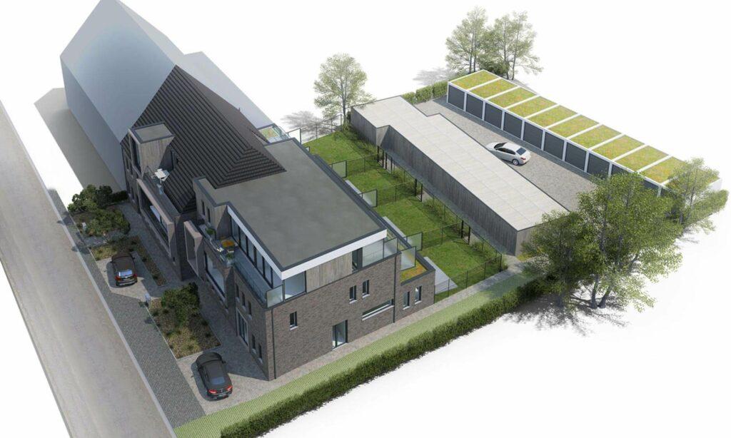 Res. Cruysveltstede Buggenhout Luchtfoto Bekami Projects